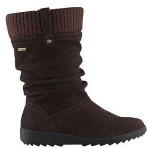 Cougar Waterproof Suede Boots sz 9 NIB